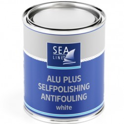 Sea-Line  Antifulingas 0,75l Alu-Plus (Aliuminiui ir kt. paviršiams)  baltas - 35859