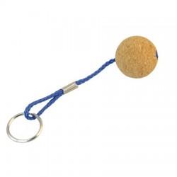 Raktų pakabukas - kamštinis kamuoliukas 35mm