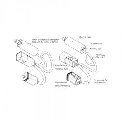 Yacht Devices variklio duomenų adapteris YDEG-04