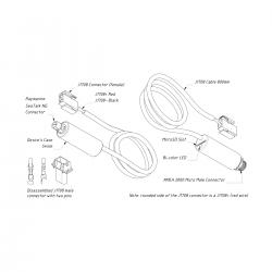 Yacht Devices J1708 variklio duomenų adapteris YDES-04