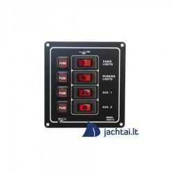 4-jų jungiklių skydelis - EK10014