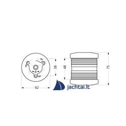 Navigacinis žibintas – baltas topinis, inkaravimosi - AQ3513012
