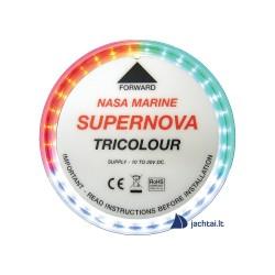 Navigacinis LED žibintas - Supernova tricolor - trijų sektorių