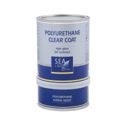 Sea-Line Poliuretaninis lakas 0,75l-  High Gloss Polyurethane Clear Coat – Varnish
