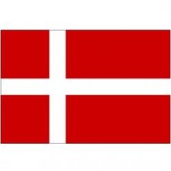Vėliava Danijos 20 * 30cm