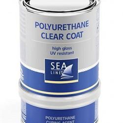 Sea-Line 2-jų komponentų poliuretaninis lakas 0,75l